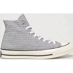 Converse - Trampki. Szare tenisówki męskie Converse, z gumy, na sznurówki. Za 399,90 zł.