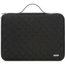 Pokrowiec na laptopa 15''. Czarne torby na laptopa Ochnik, ze skóry. Za 299,90 zł.