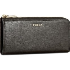 Duży Portfel Damski FURLA - Babylon 745850 P PN07 B30 Onyx. Czarne portfele damskie marki Furla, ze skóry. Za 585,00 zł.