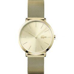Lacoste - Zegarek 2001000. Brązowe zegarki damskie Lacoste, szklane. Za 999,90 zł.