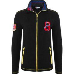 """Bejsbolówki męskie: Bluza polarowa """"Race"""" w kolorze czarnym"""
