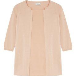 Bluzki damskie: Koszulka w kolorze brzoskwiniowym