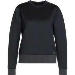 Bluzy sportowe damskie: Under Armour LUSTER LONG SLEEVE CREW Bluza black