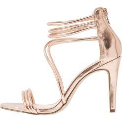 Sandały damskie: New Look SIGNAL Sandały na obcasie rose gold