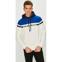 G-Star Raw - Bluza. Szare bluzy męskie rozpinane marki TARMAK, m, z bawełny, z kapturem. Za 399,90 zł.