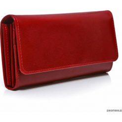 Czerwony portfel damski skórzany duży Belveder. Czerwone portfele damskie Pakamera, ze skóry. Za 219,00 zł.