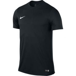 Koszulki sportowe męskie: Nike Koszulka Park VI Boys czarna r. S (725984 010)