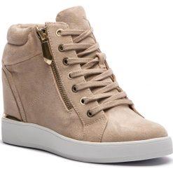 Sneakersy ALDO - Ailanna 57055037 37. Brązowe sneakersy damskie ALDO, z materiału. W wyprzedaży za 239,00 zł.