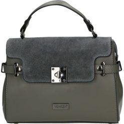 Torba - 98-008-O RC G. Szare torebki klasyczne damskie Venezia, ze skóry. Za 339,00 zł.