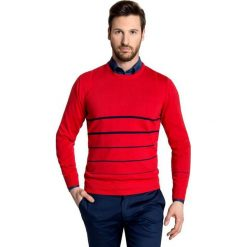 Sweter PIETRO SWTGPXX-0002SP. Czerwone swetry klasyczne męskie Giacomo Conti, m, z bawełny. Za 169,00 zł.