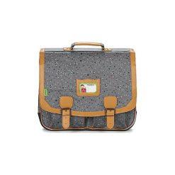 Teczki Tann's  LES BONS ENFANTS GALAXY CARTABLE 41CM. Szare torebki klasyczne damskie Tann's. Za 215,40 zł.