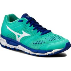 Buty MIZUNO - Synchro Mx J1GF161943  Zielony. Zielone buty do biegania damskie marki Mizuno, z materiału. W wyprzedaży za 259,00 zł.