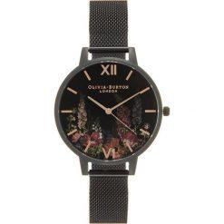 Olivia Burton Zegarek rose goldcoloured/black. Czarne, analogowe zegarki damskie Olivia Burton. Za 569,00 zł.