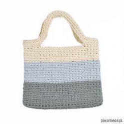 Shopper bag damskie: Torebka Bawełniana Plażowa