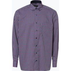 Eterna Comfort Fit - Koszula męska niewymagająca prasowania, niebieski. Niebieskie koszule męskie non-iron Eterna Comfort Fit, m, w kratkę, button down. Za 229,95 zł.