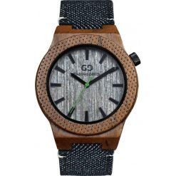 Zegarek Giacomo Design Drewniany  męski GD08604. Szare zegarki męskie Giacomo Design. Za 385,00 zł.