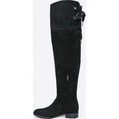 Gino Rossi - Kozaki Miwa. Białe buty zimowe damskie marki Gino Rossi, z materiału. W wyprzedaży za 499,90 zł.