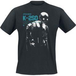 T-shirty męskie: Star Wars K-2SO T-Shirt czarny