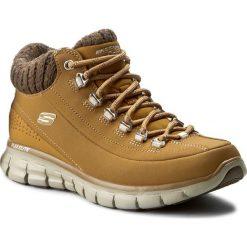 Trekkingi SKECHERS - Winter Nights 12122/WTN Wheat. Niebieskie buty zimowe damskie marki Skechers. W wyprzedaży za 249,00 zł.