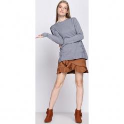 Szary Sweter Misconceiving. Szare swetry klasyczne damskie Born2be, na jesień, l. Za 39,99 zł.