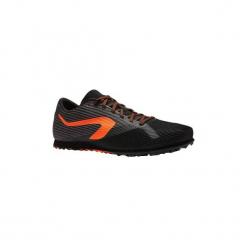 Buty do biegania z wkrętami AT CROSS. Czarne buty do biegania damskie marki Kazar, z nubiku, przed kolano, na wysokim obcasie. Za 219,99 zł.