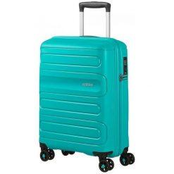 American Tourister Walizka Podróżna Sunside 55 Cm Turkusowa. Niebieskie walizki American Tourister. Za 368,00 zł.