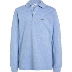 Lacoste PJ8915 Koszulka polo nuage chine. Szare bluzki dziewczęce bawełniane marki Lacoste. W wyprzedaży za 199,20 zł.