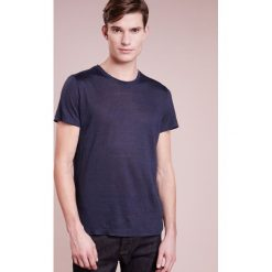 120% Lino UOMO GIROCOL Tshirt basic graphite. Szare t-shirty męskie 120% Lino, l, ze lnu. Za 439,00 zł.