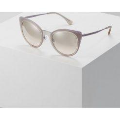 Emporio Armani Okulary przeciwsłoneczne rose. Czerwone okulary przeciwsłoneczne damskie lenonki Emporio Armani. Za 609,00 zł.