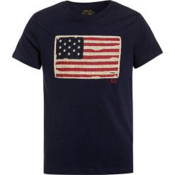 T-shirty chłopięce: Polo Ralph Lauren FLAG Tshirt z nadrukiem newport navy