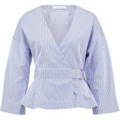 Bluzki asymetryczne: IVY & OAK Bluzka navy/bright white
