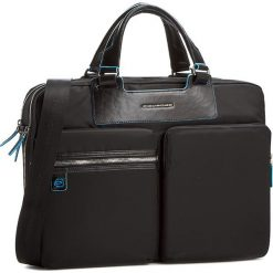 Torba na laptopa PIQUADRO - CA3355CE/N Czarny. Czarne plecaki męskie marki Piquadro, z materiału. Za 1039,00 zł.
