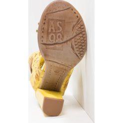 Rzymianki damskie: A.S.98 Sandały na obcasie papaya/natur