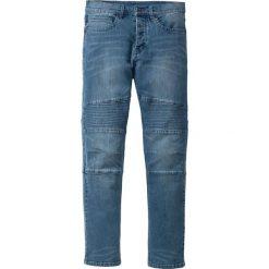 """Dżinsy ze stretchem Slim Fit Straight bonprix niebieski """"stone used"""". Niebieskie jeansy męskie relaxed fit marki House, z jeansu. Za 159,99 zł."""