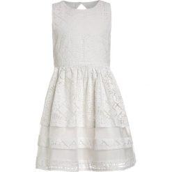 Sukienki dziewczęce: Derhy SIBYLLE ROBE LACE Sukienka koktajlowa blanc