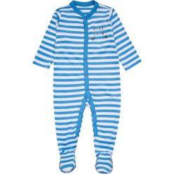 Mothercare BOYS CREW SLEEPSUIT BABY 3 PACK Piżama blue. Niebieskie bielizna chłopięca marki mothercare, z bawełny. Za 129,00 zł.