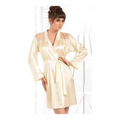 Szlafrok Daphne Kremowy. Białe szlafroki kimona damskie Irall. Za 184,90 zł.