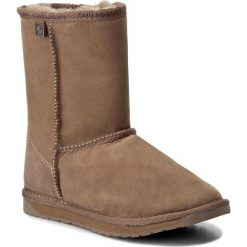 Buty EMU AUSTRALIA - Platinum Stinger Lo U10002 Mushroom. Brązowe buty zimowe damskie EMU Australia, z gumy. W wyprzedaży za 439,00 zł.