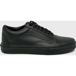 Vans - Buty. Czarne buty sportowe damskie Vans, z gumy. W wyprzedaży za 269,90 zł.