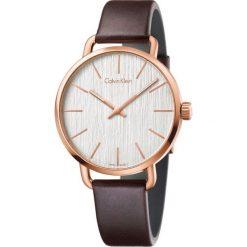 ZEGAREK CALVIN KLEIN Even K7B216G6. Szare zegarki męskie Calvin Klein, szklane. Za 1119,00 zł.