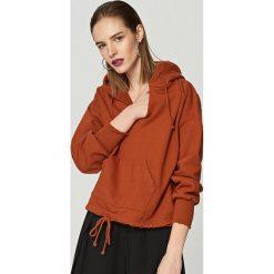 Bluza z kapturem - Brązowy. Brązowe bluzy męskie rozpinane marki LIGNE VERNEY CARRON, m, z bawełny. Za 99,99 zł.
