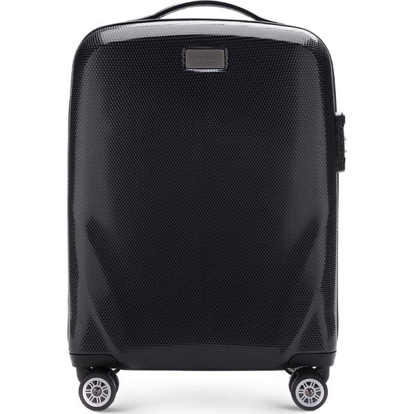 5225f6a01d0c7 Czarne walizki - Promocja. Nawet -70%! - Kolekcja lato 2019 - myBaze.com