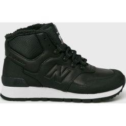 New Balance - Buty HL755MLA. Czarne buty skate męskie New Balance, z materiału, na sznurówki. W wyprzedaży za 439,90 zł.