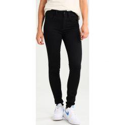 GStar 3301 HIGH SKINNY Jeans Skinny Fit ita black superstretch. Czarne rurki damskie G-Star. Za 419,00 zł.