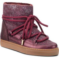 Buty INUIKII - Sneaker 70202-24 Burret Vine. Czerwone buty zimowe damskie Inuikii, z materiału, na niskim obcasie. Za 1129,00 zł.