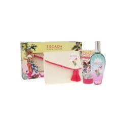 Kosmetyczki damskie: Escada Fiesta Carioca Zestaw dla kobiet  EDT 100 ml + Balsam do ciała 150 ml + Kosmetyczka