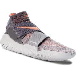 Buty NIKE - Free Rn Motion Fk 2018 942841 003 Atmosphere Grey/Crimson Pulse. Szare buty do biegania damskie Nike, z materiału. W wyprzedaży za 469,00 zł.