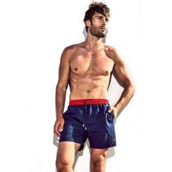 Męskie szorty kąpielowe DAVID 52 Basic Caicco 043R. Czerwone szorty męskie marki Cropp. Za 105,00 zł.