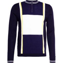 PS by Paul Smith MENS ZIP NECK  Sweter black. Czarne swetry klasyczne męskie marki PS by Paul Smith, m, z materiału. W wyprzedaży za 379,60 zł.