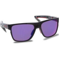 Okulary przeciwsłoneczne OAKLEY - Crossrange Xl OO9360-0558 Black Ink/Prizm Road. Czarne okulary przeciwsłoneczne męskie aviatory Oakley, z tworzywa sztucznego. W wyprzedaży za 579,00 zł.